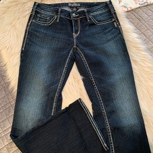 New without tags Silver jeans.